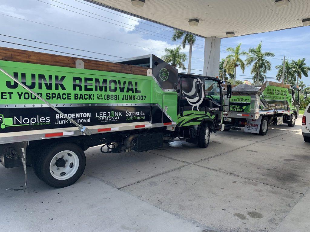 Dump Trucks for Junk Removal in Bradenton Florida